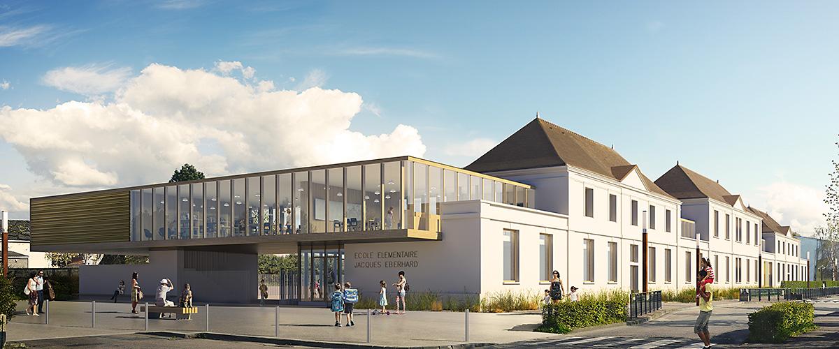 École primaire Jacques Eberhard Gonfreville-l'Orcher (76)